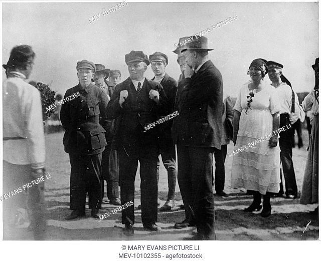 VLADIMIR LENIN The Russian statesman at the 2nd congress of the Comintern, Petrograd, 1920