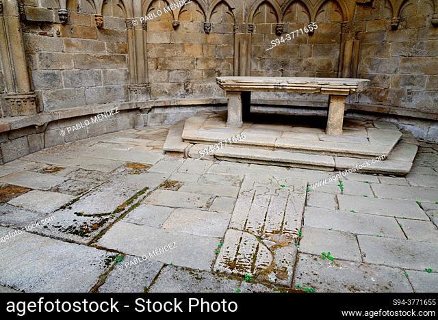 Ruins of San Domingos, Pontevedra, Spain
