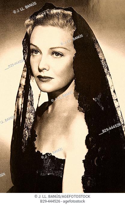 Madeleine Carroll, British actress (1906-1987)