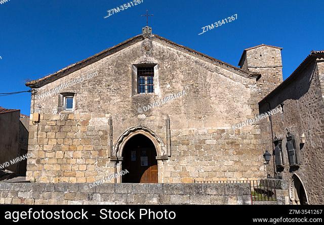 Iglesia de Santiago. Trujillo. Cáceres. Extremadura. España