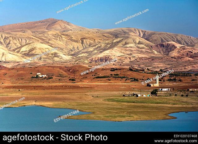 See nahe Altlas Gebierge Marokko