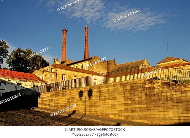 The Robinson abandoned cork factory in Portalegre, Alentejo, Portugal