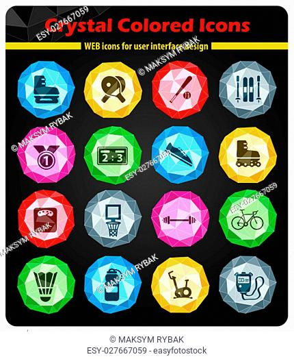 Sport simply symbol for web icons and user interface