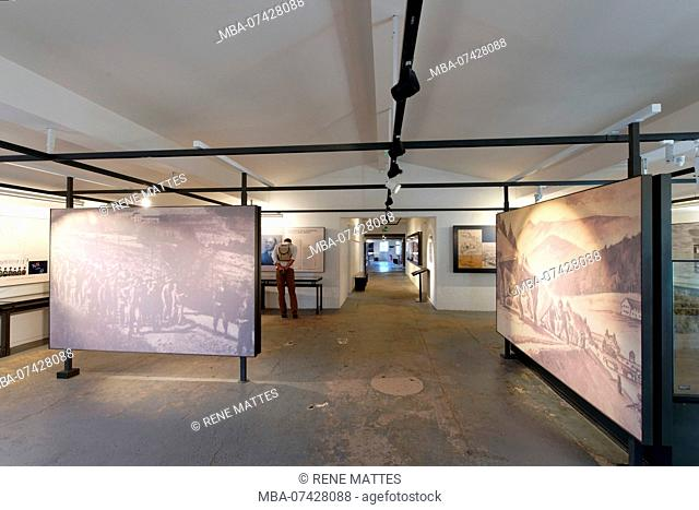 France, Bas Rhin, Natzwiller, Le Struthof former Nazi Concentration Camp, only Nazi run camp on French territory in World War Two, the museum