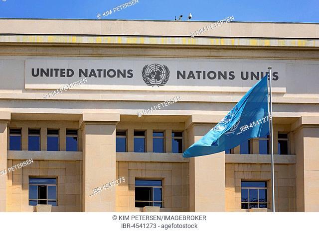 United Nations, UN, Palais des Nations, Geneva, Switzerland