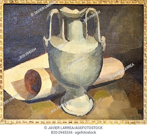 Nature morte, 1921, André Mare, Musée d'Art Moderne, Troyes, Champagne-Ardenne Region, Aube Department, France, Europe