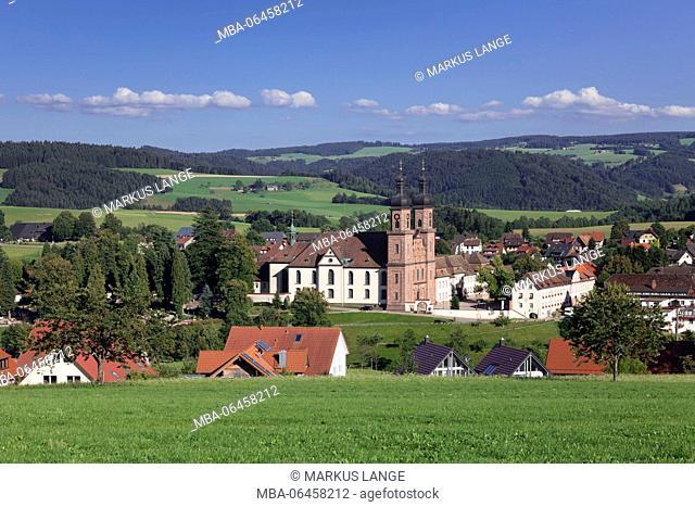 Cloister St. Peter, Glottertal, Black Forest, Baden Württemberg, Germany