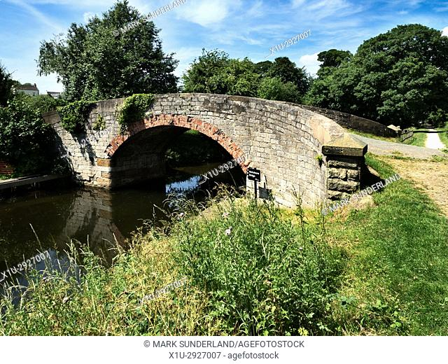 Nicholsons Bridge on the Ripon Canal near Ripon North Yorkshire England