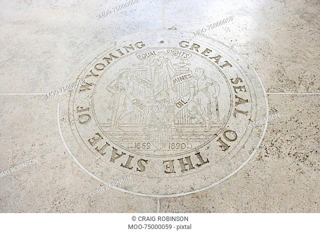 Great Seal of the State of Wyoming in Fort Bonifacio, Manila, Philippines