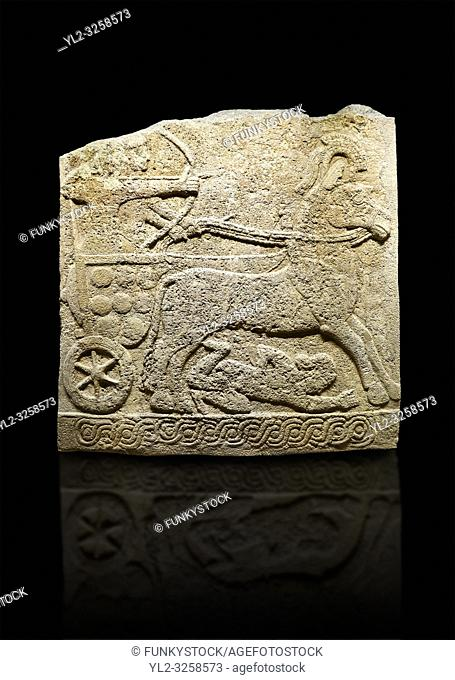 Hittite relief sculpted orthostat stone panel of Long Wall Limestone, Karkamis, (Kargamis), Carchemish (Karkemish), 900 -700 B.C