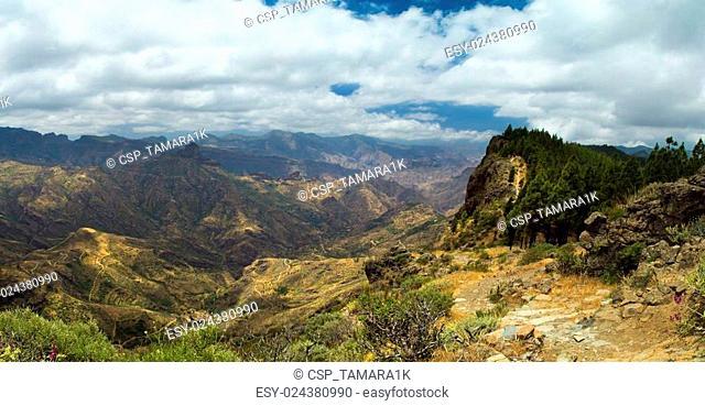 Inland Central Gran Canaria, Artenara area