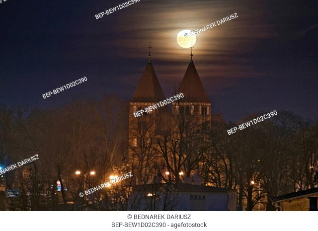 Romanesque Church of the Blessed Virgin Mary - Basilica Minor. Inowroclaw, Kuyavian-Pomeranian Voivodeship, Poland