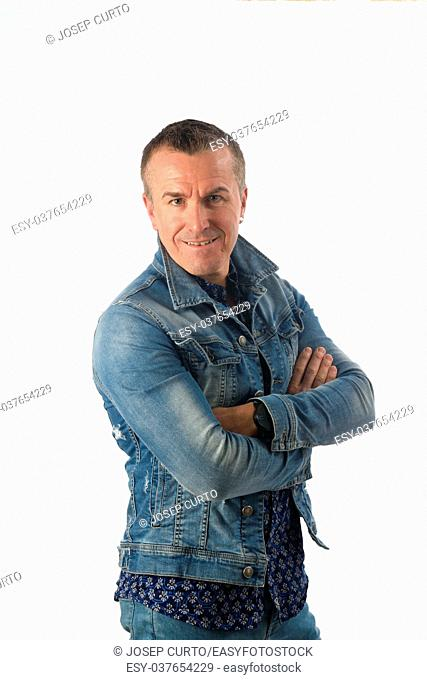 portrait of a man dressed in denim