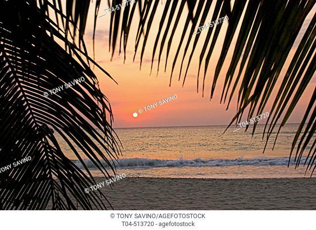 Sunset. Negril. Jamaica