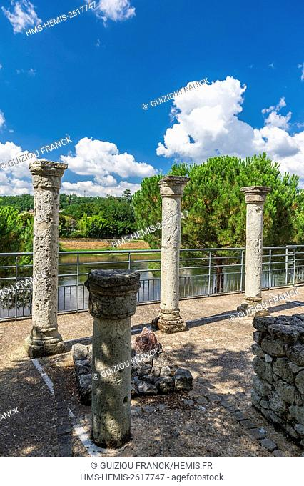 France, Gironde, Sainte-Foy-la-Grande, vestiges of the 16th century protestant temple