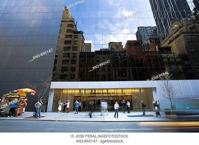 Museum of Modern Art, midtown Manhattan, NYC, USA