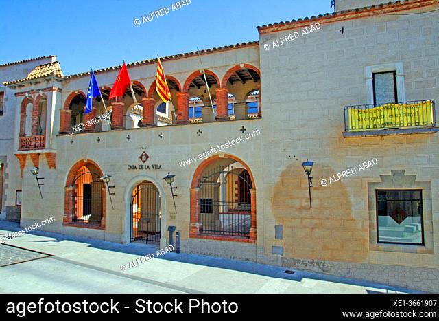 Town Hall, former convent of Sant Francesc de Paula, Hostalric, Catalonia, Spain