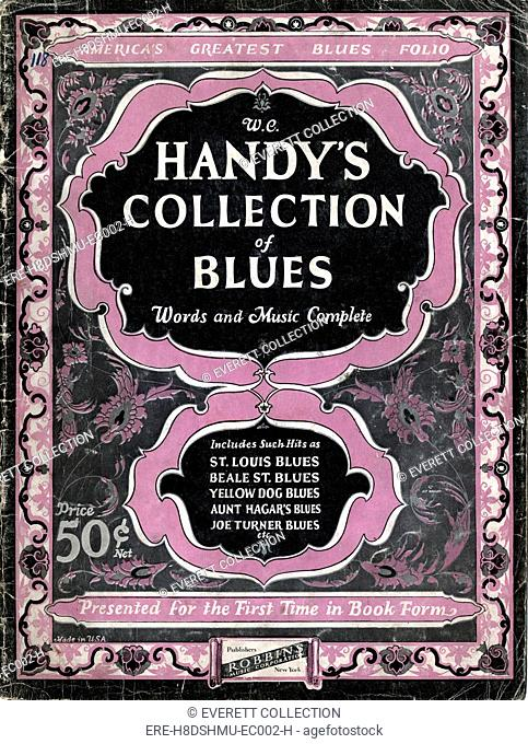 W.C. Handy's Collection of Blues, sheet music circa 1920s