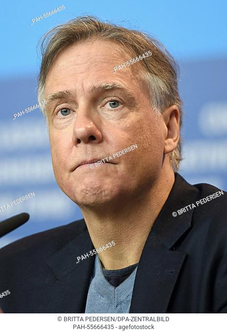 US-director Mitchell Lichtenstein attends the press conference for 'Angelica' at the 65th annual Berlin Film Festival, in Berlin, Germany, 07 February 2015