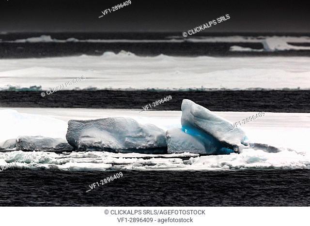 Svalbard, sea ice