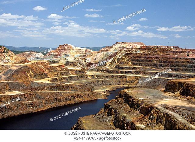 Spain, Spring 2011, Andalucia Region, Rio Tinto Mines, Huelva Province
