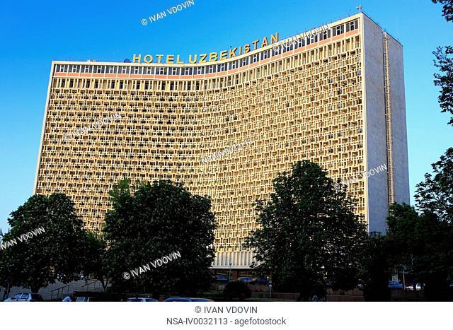Hotel, Tashkent, Uzbekistan