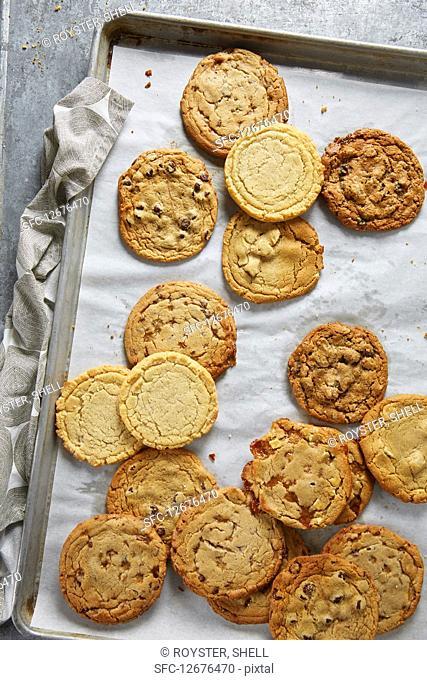 Cookies On Baking Pan