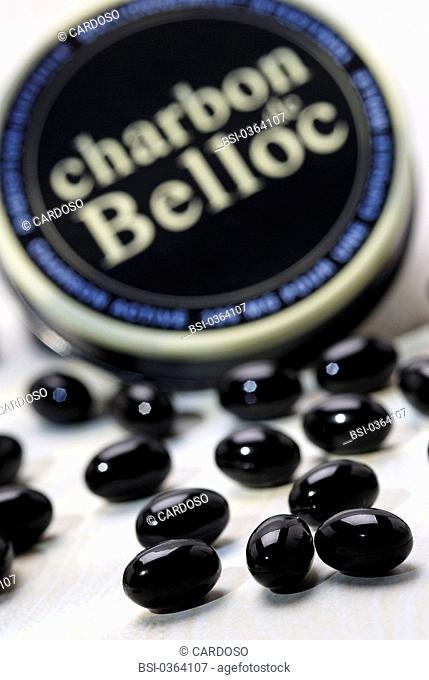 HERBAL MEDICINE Charbon de Belloc