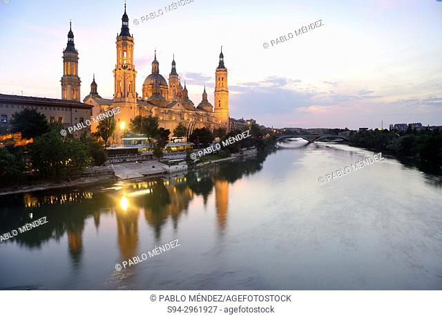 Basilica of El Pilar, Zaragoza, Aragon, Spain