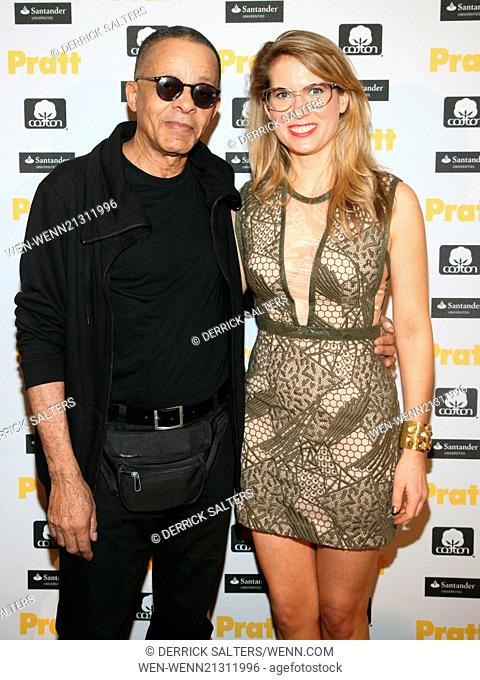 Pratt Institute's 115th annual student fashion show - Afterparty held at The High Line Hotel. Featuring: Stephen Burrows, Rachel Crumbley Where: New York City