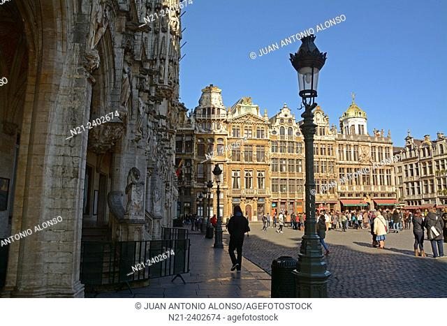 Grand Place, Brussels, Belgium, Europe