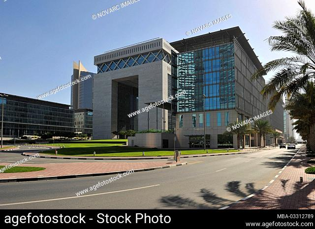 DIFC Dubai International Financial Center, Dubai, United Arab Emirates
