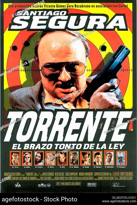 TORRENTE, EL BRAZO TONTO DE LA LEY, (aka TORRENTE, THE DUMB ARM OF THE LAW, aka TORRENTE, THE STUPID ARM OF THE LAW), Santiago Segura, 1998