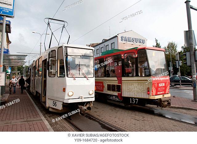 Tram, Tallinn, Harju, Estonia