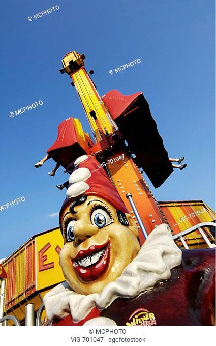 amusement park Prater Vienna, Punch, Austria, Vienna, 2. district, Vienna - Prater  - Wien - Prater, AUSTRIA, 19/12/2007