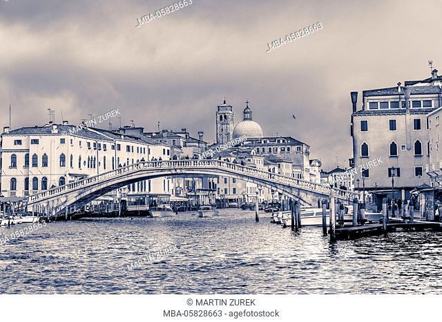 Ponte degli Scalzi, Canal grandee, Venice, Italy
