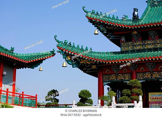 Wun Chuen Sin Koon temple, New Territories, Hong Kong, China, Asia