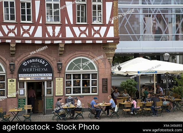 Haus Wertheym Pub; Romerberg Square; Frankfurt; Germany
