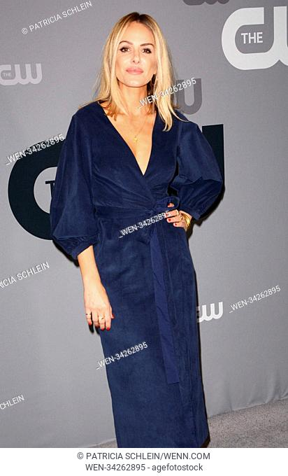 CW Upfronts 2 NYC Featuring: Monet Mazur Where: NYC, New York, United States When: 17 May 2018 Credit: Patricia Schlein/WENN.com