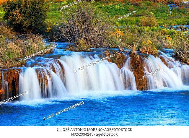 Ruidera Lagoons, Lagunas de Ruidera Natural Park, Albacete and Ciudad Real provinces, Spain