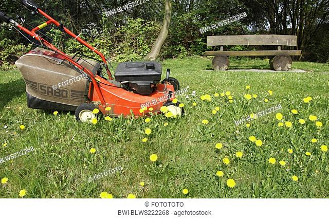 power mower, Germany