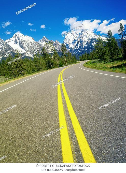 Grand Teton National Park. Wyoming. USA