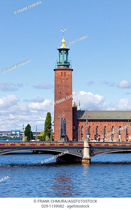Sweden Stockholm Town Hall
