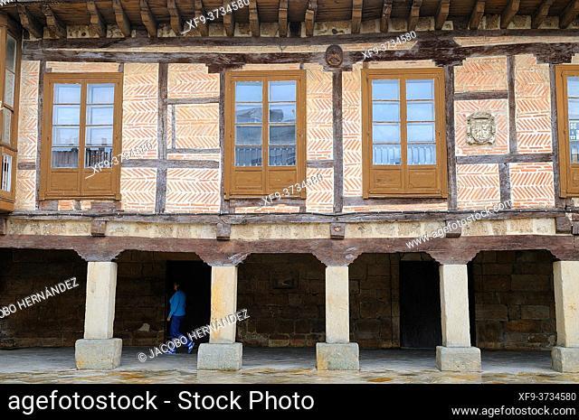Traditional house. Aguilar de Campoo. Palencia province. Castilla y León. Spain