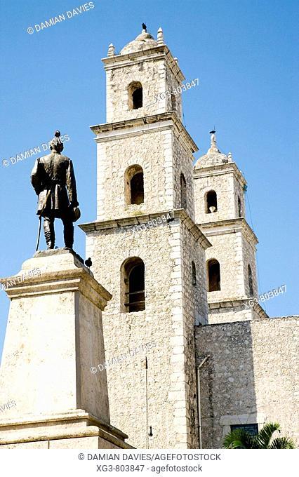 Church, Merida, Yucatan, Mexico