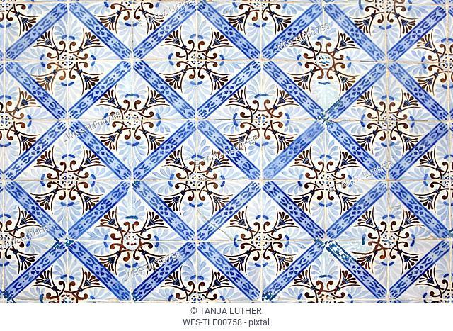 Portugal, Azulejos, close-up
