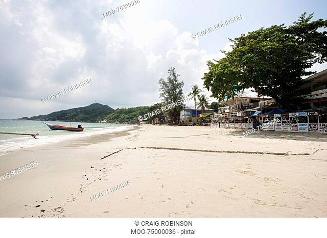 View of Sunrise Beach on Koh Pha Ngan, Thailand