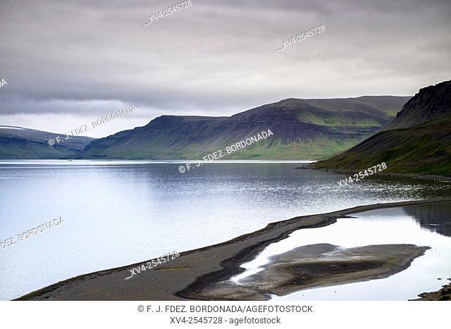 Snæfellsnesvegur, Fjord, West Iceland