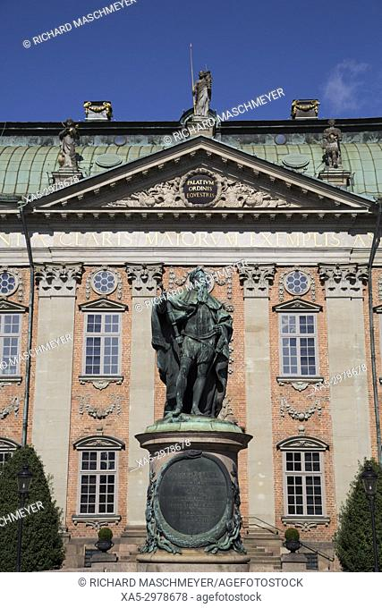 Statue of Gustavo Erici, The House of Nobility, Gamla Stan, Stockholm, Sweden