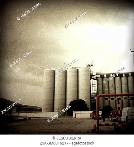 Factory in Madrid. Spain